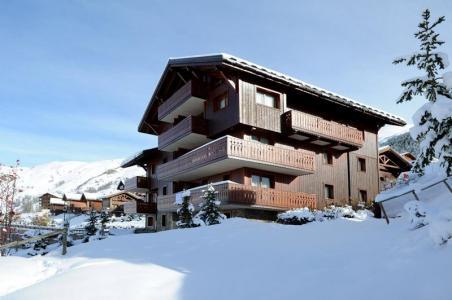 Location au ski Appartement 3 pièces 6 personnes (2) - Chalet Le Hameau Des Marmottes - Les Menuires - Séjour