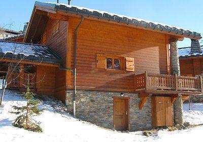 Location Les Menuires : Chalet Les Marmottes - Crintallia hiver
