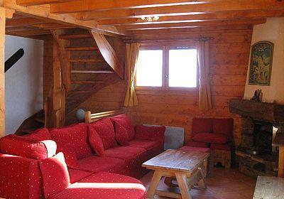 Location au ski Chalet 8 pièces 16 personnes - Chalet Les Marmottes - Crintallia - Les Menuires - Canapé