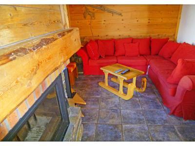 Location au ski Chalet Levassaix - Les Menuires - Séjour