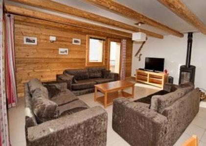 Location au ski Chalet Lili - Les Menuires - Coin séjour