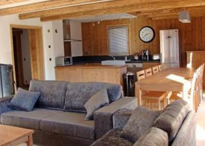 Location au ski Chalet Lili - Les Menuires - Séjour