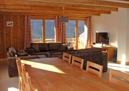 Location au ski Chalet Lili - Les Menuires - Coin repas