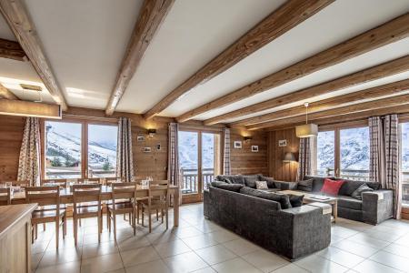 Location au ski Chalet Lili - Les Menuires - Salle à manger