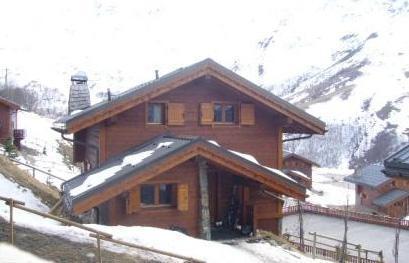 Location au ski Chalet Marmottes - Les Menuires - Extérieur hiver