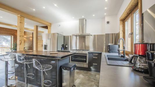 Rent in ski resort Chalet Matangie - Les Menuires - Kitchen