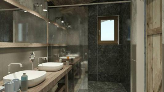 Location au ski Chalet Matangie - Les Menuires - Salle d'eau