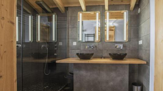 Rent in ski resort Chalet Matangie - Les Menuires - Shower