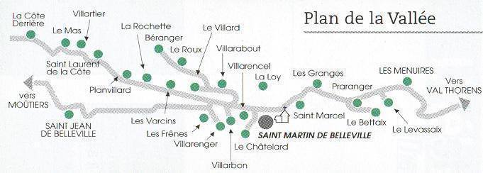 Location au ski Chalet mitoyen 8 pièces 14 personnes - Chalet Mil'ans - Les Menuires - Plan
