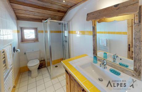 Rent in ski resort 8 room triplex chalet 16 people - Chalet Nécou - Les Menuires