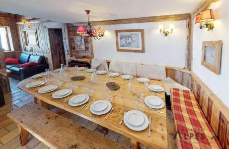 Location au ski Chalet triplex 8 pièces 16 personnes - Chalet Nécou - Les Menuires - Salle à manger