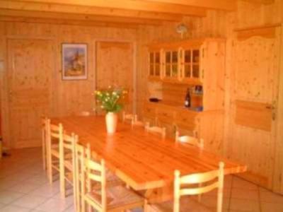 Location au ski Chalet 7 pièces 12 personnes - Chalet Trois Vallees - Les Menuires - Salle à manger