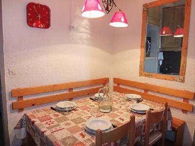Rent in ski resort 2 room apartment 5 people (1) - Chanteneige la Croisette - Les Menuires - Dining area