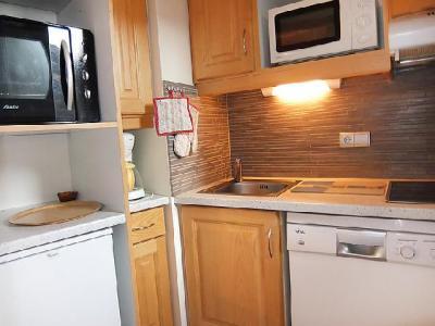 Rent in ski resort 2 room apartment 5 people (1) - Chanteneige la Croisette - Les Menuires - Kitchen
