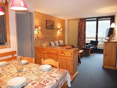 Rent in ski resort 2 room apartment 5 people (1) - Chanteneige la Croisette - Les Menuires - Living room