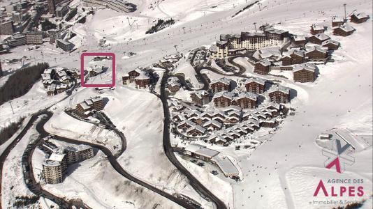 Location Les Menuires : Hameau de la Sapinière - Chalet Cembro hiver