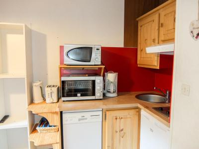 Rent in ski resort 1 room apartment 3 people (9) - L'Argousier - Les Menuires - Apartment