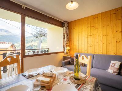Rent in ski resort 2 room apartment 4 people (1) - L'Argousier - Les Menuires - Apartment
