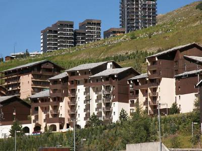Rent in ski resort 2 room apartment 4 people (1) - L'Argousier - Les Menuires - Inside