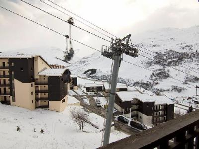 Rent in ski resort 2 room apartment 4 people (1) - L'Argousier - Les Menuires - Winter outside