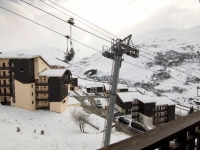 Rent in ski resort 2 room apartment 4 people (1) - L'Argousier - Les Menuires