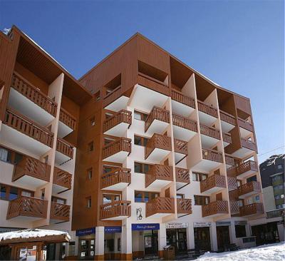 Rent in ski resort La Résidence Aconit - Les Menuires - Winter outside