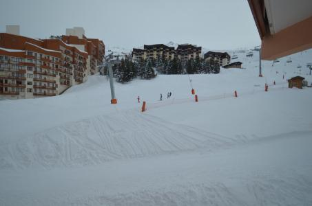 Rent in ski resort 2 room apartment 4 people (202) - La Résidence Aconit - Les Menuires - Winter outside