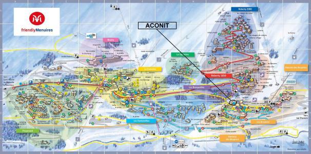 Rent in ski resort La Résidence Aconit - Les Menuires