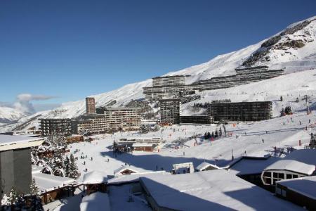 Location au ski La Residence Aravis - Les Menuires - Extérieur hiver