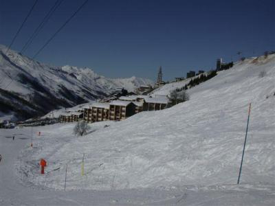 Location au ski La Résidence Asters - Les Menuires - Extérieur hiver