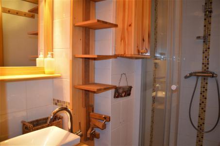 Location au ski Appartement 3 pièces mezzanine 6 personnes (B1 35) - La Residence Asters - Les Menuires - Lavabo