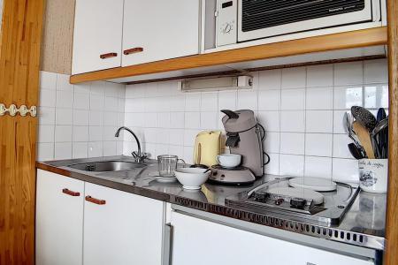 Rent in ski resort Studio cabin 3 people (622) - La Résidence Astragale - Les Menuires - Kitchenette
