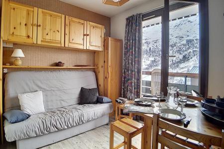 Rent in ski resort Studio cabin 3 people (622) - La Résidence Astragale - Les Menuires - Living room