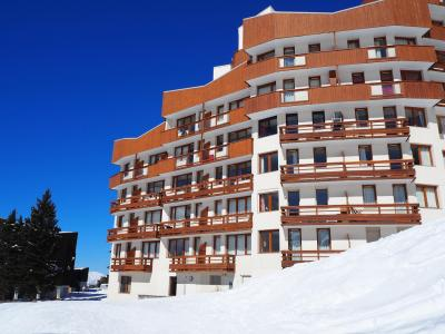 Holiday in mountain resort La Résidence Boëdette - Les Menuires - Winter outside