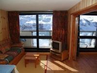 Location au ski Appartement 3 pièces 8 personnes - La Residence Brelin - Les Menuires - Coin séjour