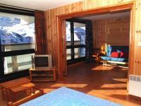 Location au ski Appartement 3 pièces 8 personnes - La Residence Brelin - Les Menuires - Porte-fenêtre donnant sur balcon