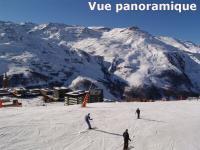 Location au ski Appartement 3 pièces 8 personnes - La Residence Brelin - Les Menuires - Extérieur hiver