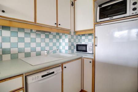 Location au ski Appartement 3 pièces 6 personnes (607) - La Résidence Burons - Les Menuires - Kitchenette