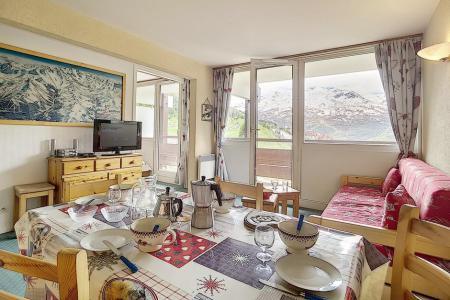 Location au ski Appartement 3 pièces 6 personnes (607) - La Résidence Burons - Les Menuires - Séjour