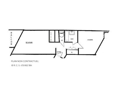 Location au ski Appartement 2 pièces 5 personnes (1013) - La Résidence Caron - Les Menuires