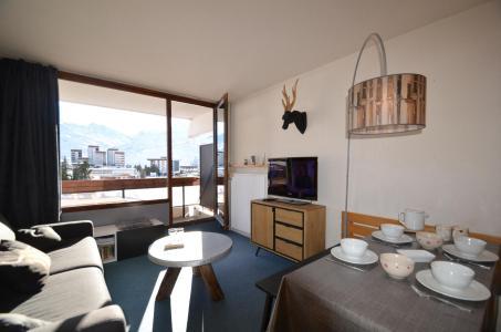 Wynajem na narty Apartament 2 pokojowy 4 osób (223) - La Résidence Chavière - Les Menuires - Pokój gościnny
