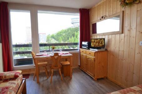 Location au ski Studio 2 personnes (531) - La Residence Chaviere - Les Menuires - Banquette