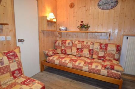 Location au ski Studio 2 personnes (531) - La Residence Chaviere - Les Menuires - Banquette-lit