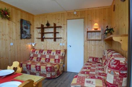 Location au ski Studio 2 personnes (531) - La Residence Chaviere - Les Menuires - Canapé-lit