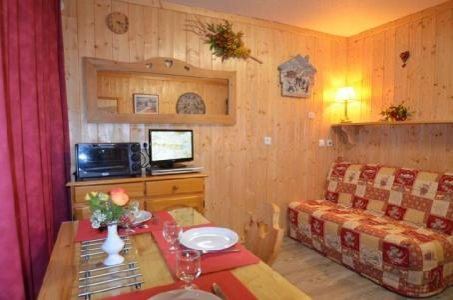 Location au ski Studio 2 personnes (631) - La Residence Chaviere - Les Menuires - Banquette