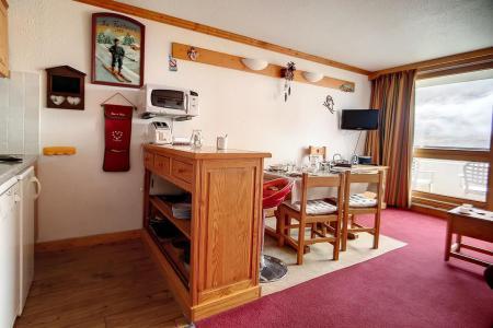 Location Les Menuires : La Résidence Côte Brune hiver
