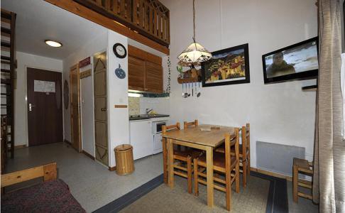 Rent in ski resort 2 room mezzanine apartment 4 people (143) - La Résidence l'Argousier - Les Menuires