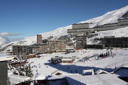 Holiday in mountain resort La Résidence la Vanoise - Les Menuires - Winter outside