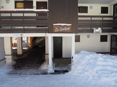 Location au ski La Residence Le Sorbier - Les Menuires - Extérieur hiver