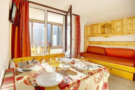 Location au ski Studio cabine 4 personnes (224) - La Residence Le Sorbier - Les Menuires - Cuisine